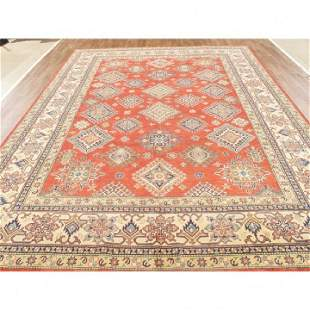 Handmade Wool Kazak Rug 9x12