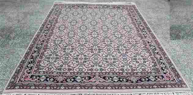Indo Persian Area Rug 6.6x8.3