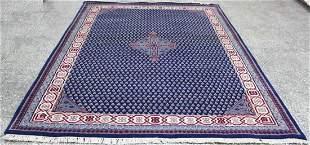 Indo Persian Sarouk Area Rug 6.4x8.4
