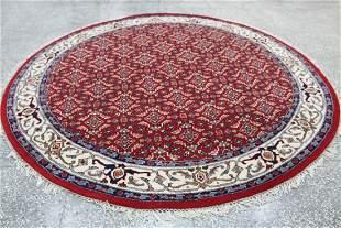 Indo Persian Round Area Rug 8.3x8.3