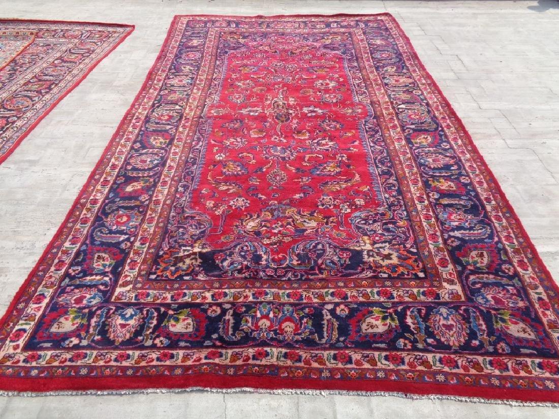 Persian Kashan Rug 11.10x6.8