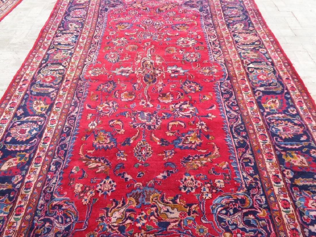 Persian Kashan Rug 11.10x6.8 - 2