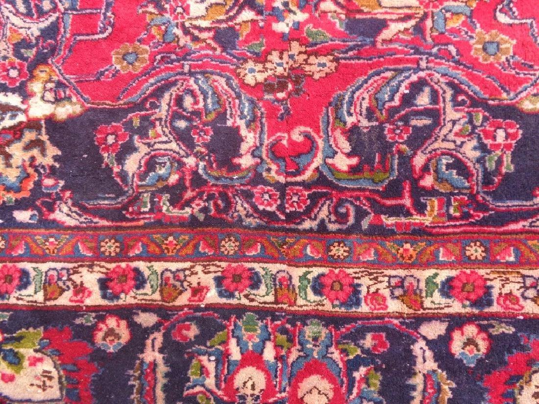Persian Kashan Rug 11.10x6.8 - 3