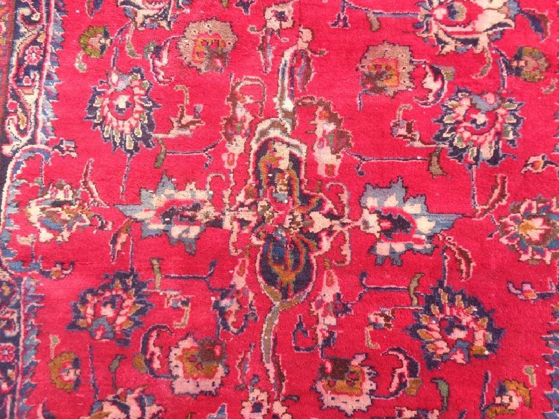 Persian Kashan Rug 11.10x6.8 - 4