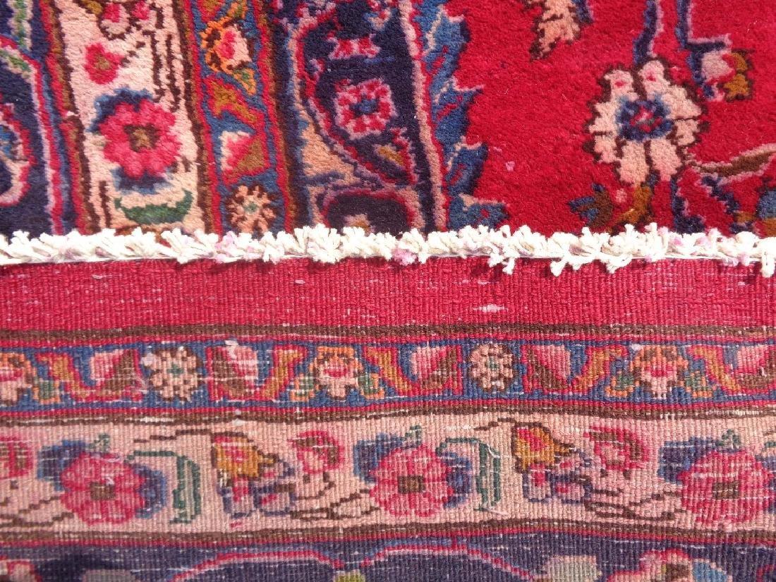 Persian Kashan Rug 11.10x6.8 - 6
