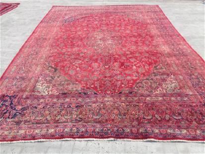 Persian Kashan Rug 12.6x9.3