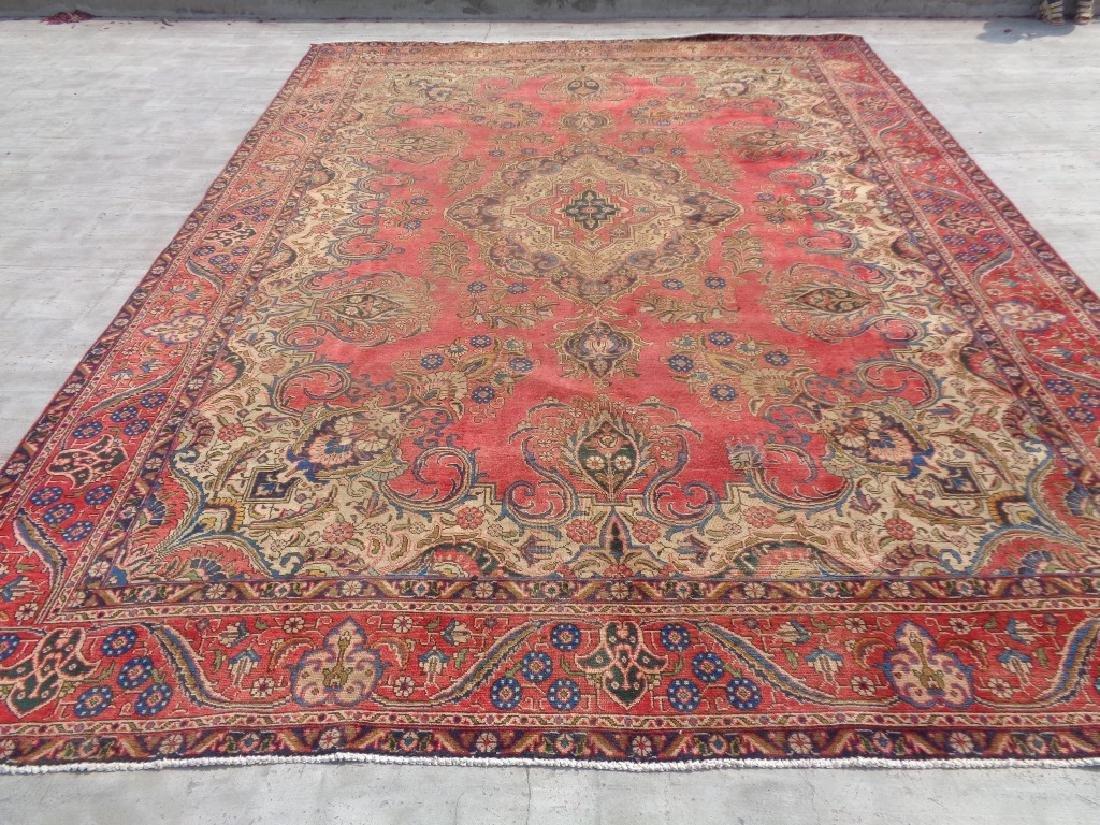 Persian Tabriz Rug 12.8x9.3