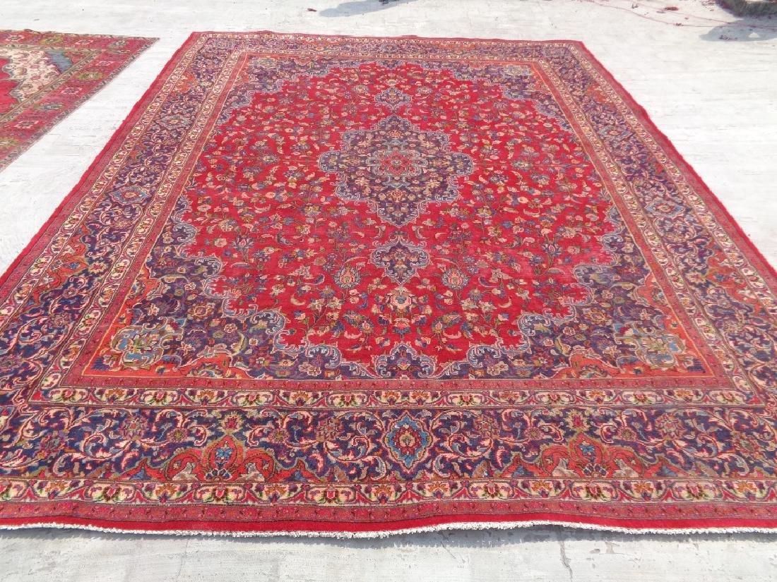 Persian Kashan Rug 12.6x9.5