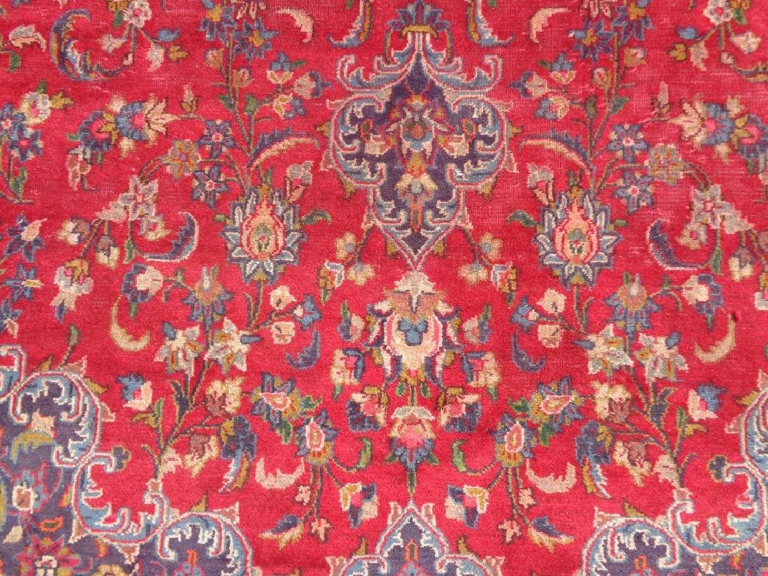 Persian Kashan Rug 12.6x9.5 - 2