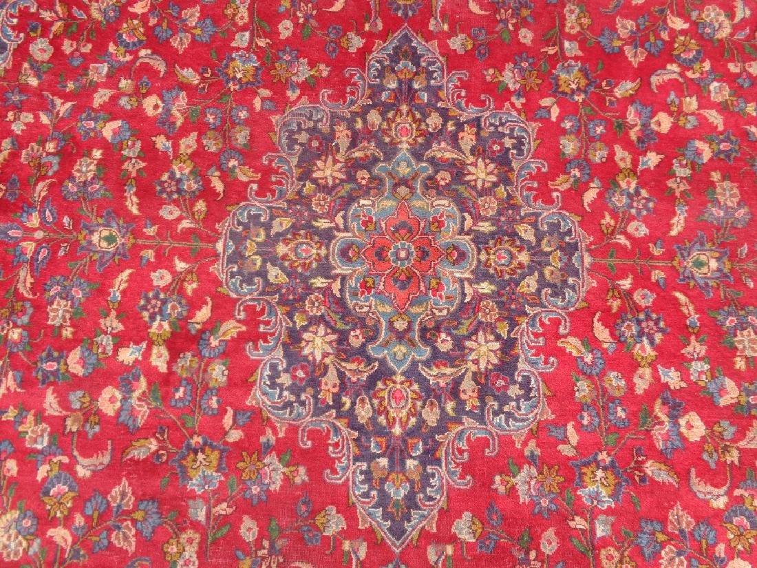 Persian Kashan Rug 12.6x9.5 - 3
