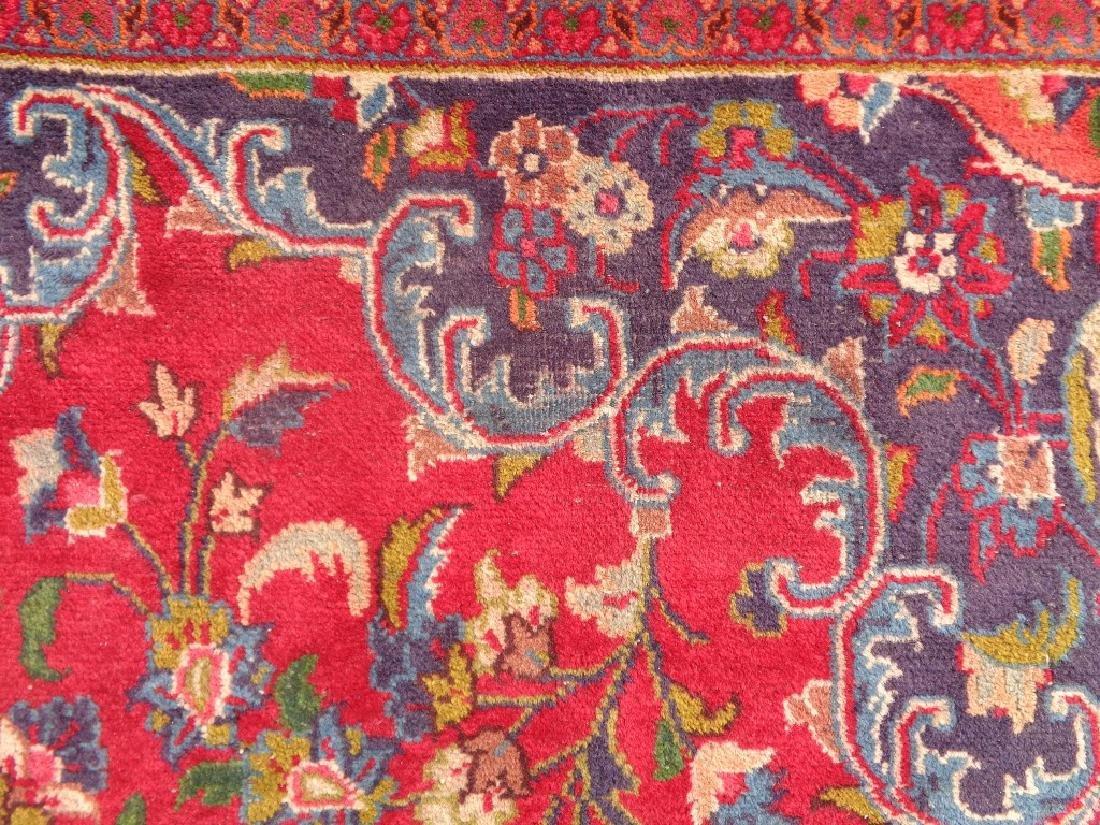 Persian Kashan Rug 12.6x9.5 - 4