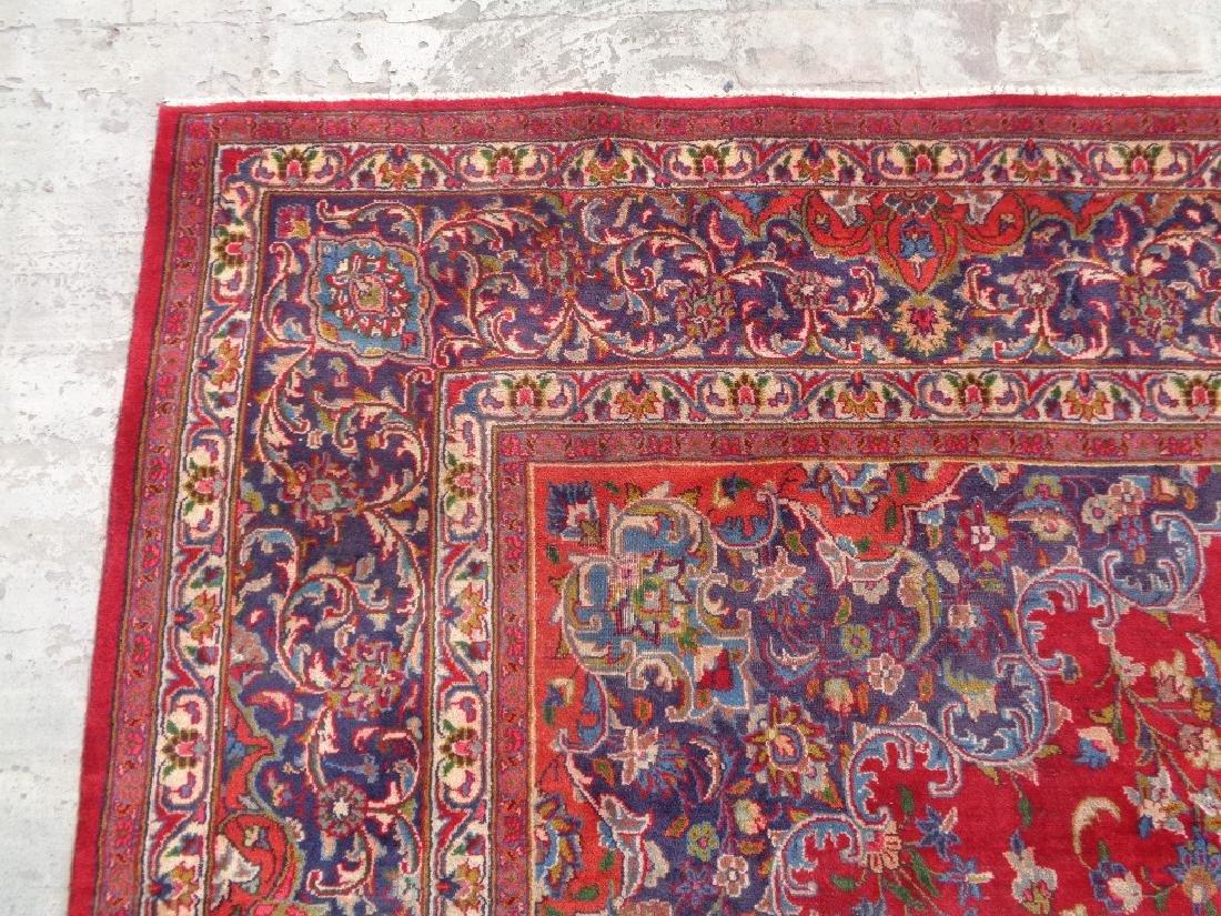 Persian Kashan Rug 12.6x9.5 - 6