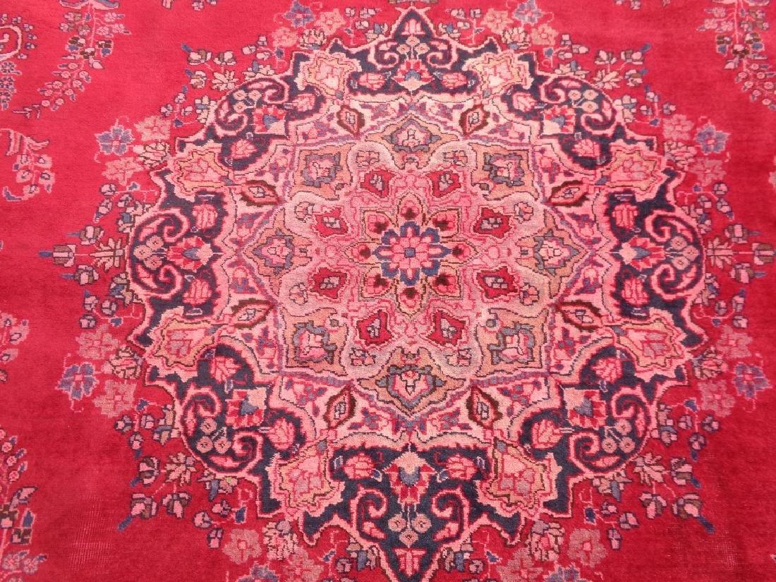 Persian Mashad Rug 12.3x9.3 - 3