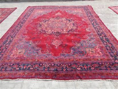Persian Mashad Rug 12.6x9.6