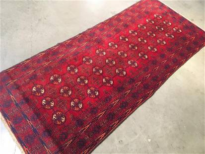 """Bokhara Hand Knotted Wool Rug 3'x6'6"""""""