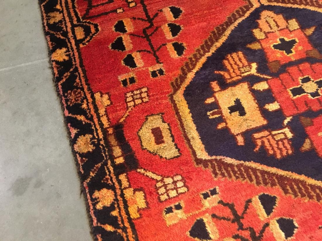 Persian Tabriz Hand Knotted Wool Rug 3'5x5'3 - 5