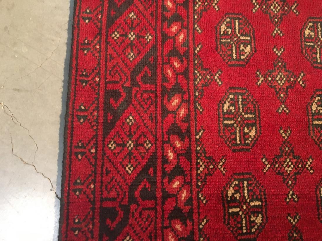 "BokharaHand Knotted Wool Rug 2'8""x9'5"" - 4"