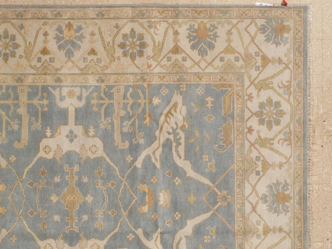 Handknotted Wool Oushak Rug 8x10 - 4