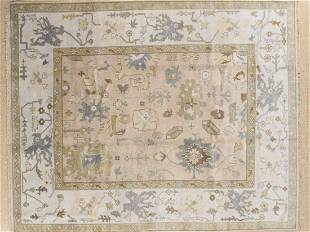 Handknotted Wool Oushak Rug 8x10