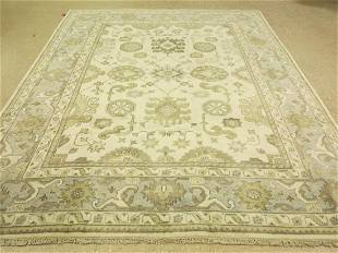 Tribal Handknotted Wool Oushak Rug 8x10