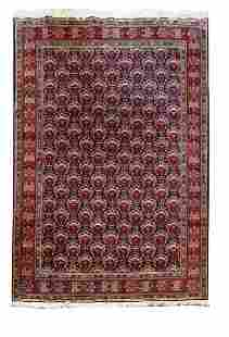 Hand Knotted Persian Tabriz Rug 6x10