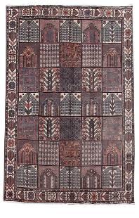 Persian Handmade Bakhtiari Decorative Rug 7'x10'