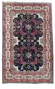 Handmade Persian Sarouk Rug 7'x10'