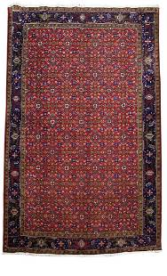 Persian Tabriz Transcendent Handmade Rug 7'x10'