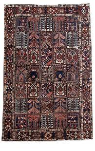 Persian Bakhtiari Estate High Quality Handmade Rug 7x10