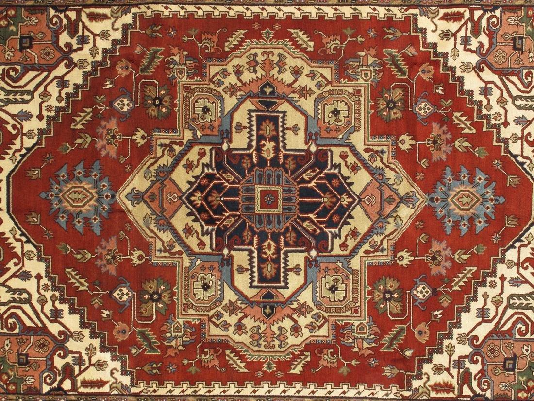 Persian Handmade Wool Serapi Rug 9x12 - 2