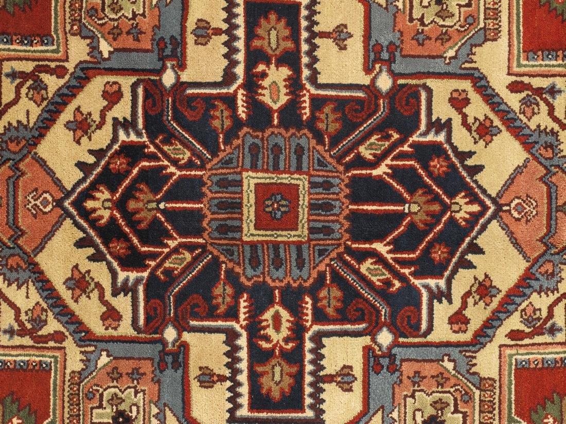 Persian Handmade Wool Serapi Rug 9x12 - 3