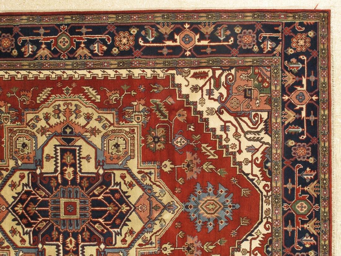 Persian Handmade Wool Serapi Rug 9x12 - 4