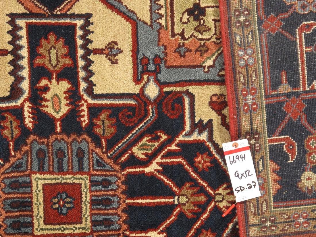 Persian Handmade Wool Serapi Rug 9x12 - 5