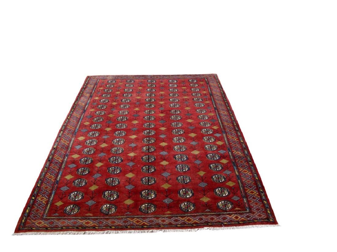 Turkoman Fine Decorative Rug Persian Wool Handmade 7x10 - 2