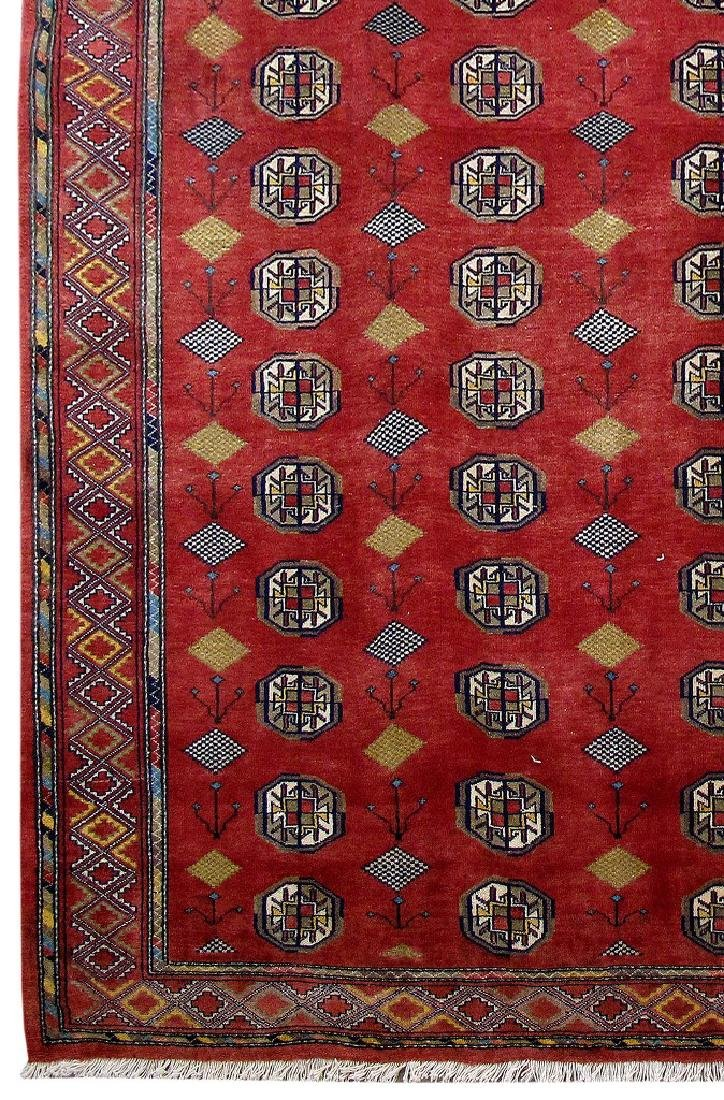 Turkoman Fine Decorative Rug Persian Wool Handmade 7x10 - 3