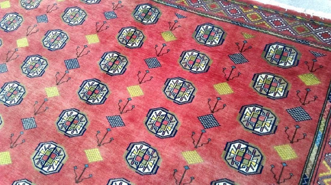 Turkoman Fine Decorative Rug Persian Wool Handmade 7x10 - 5