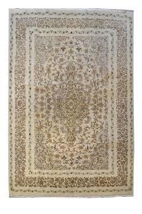 Persian Kashan Handmade Durable Rug 7x10