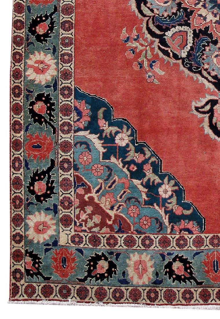 Tabriz Persian Carpet Hand Knotted 7x11 - 3