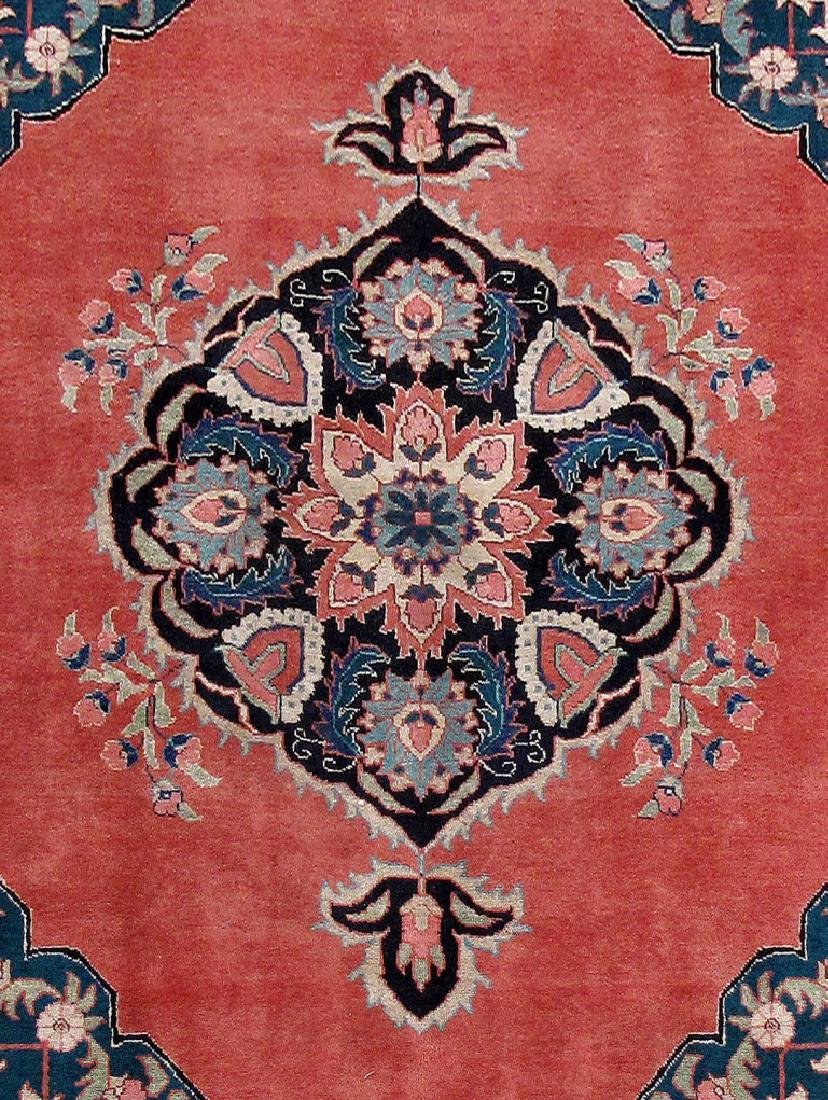 Tabriz Persian Carpet Hand Knotted 7x11 - 4