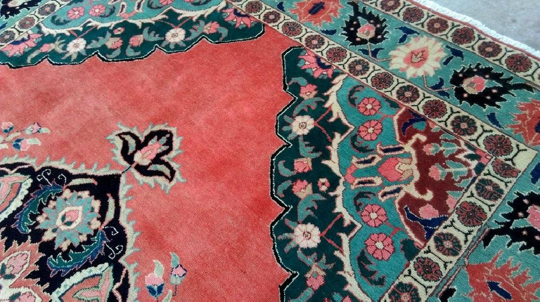 Tabriz Persian Carpet Hand Knotted 7x11 - 5