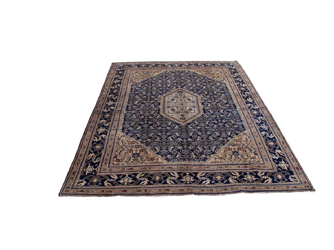 Wool Hand Knotted Persian Ardebil Rug 8x11 - 2