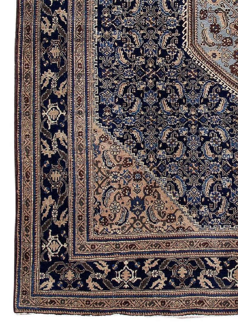 Wool Hand Knotted Persian Ardebil Rug 8x11 - 3