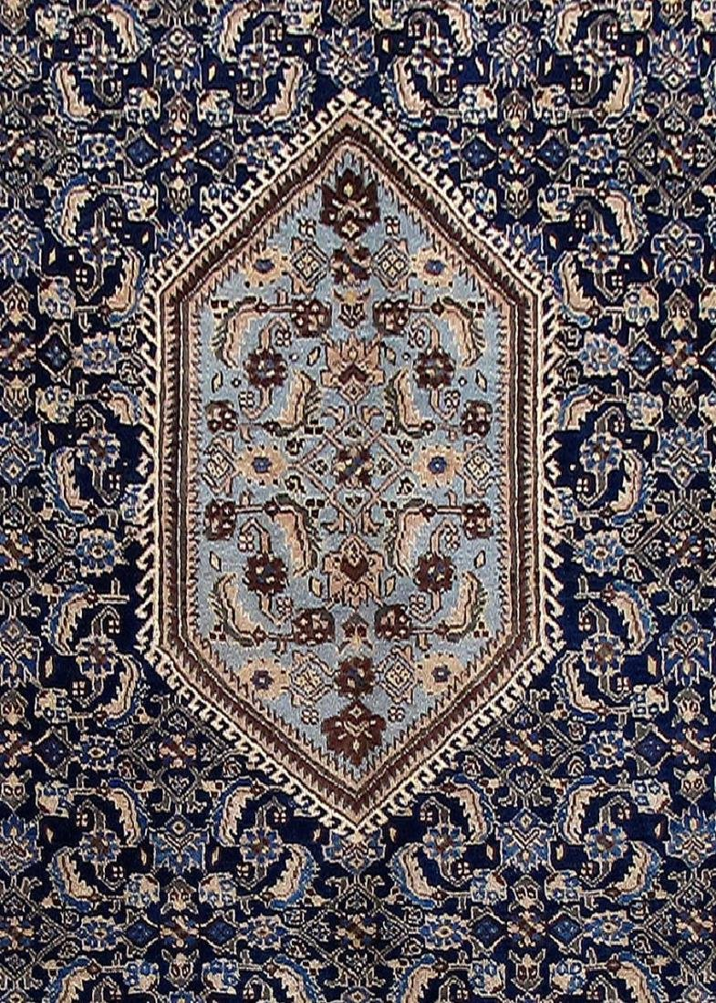 Wool Hand Knotted Persian Ardebil Rug 8x11 - 4