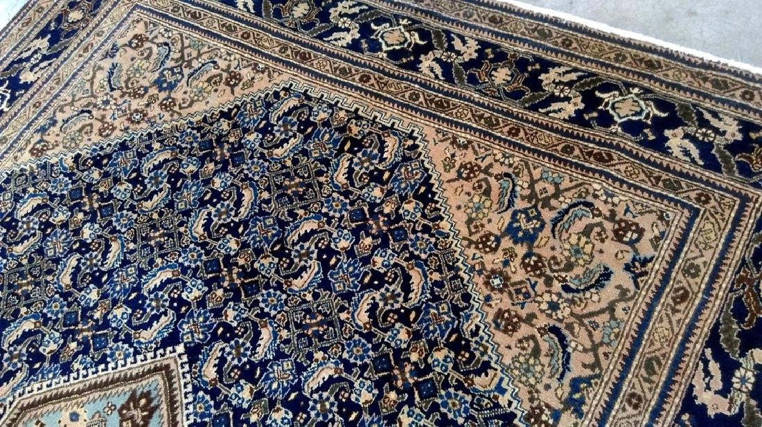 Wool Hand Knotted Persian Ardebil Rug 8x11 - 5