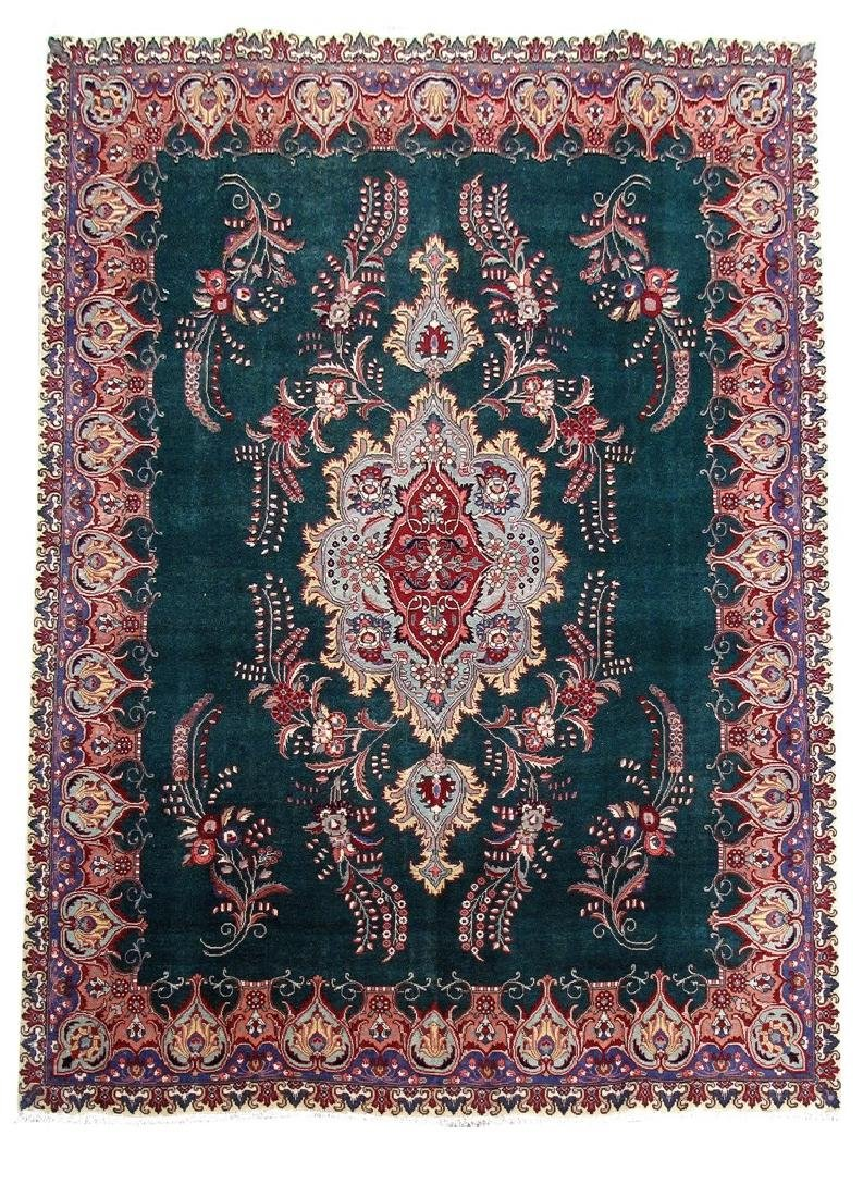 Tabriz Rug Persian Carpet Hand Knotted 9x12