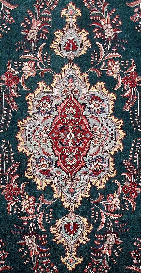 Tabriz Rug Persian Carpet Hand Knotted 9x12 - 4