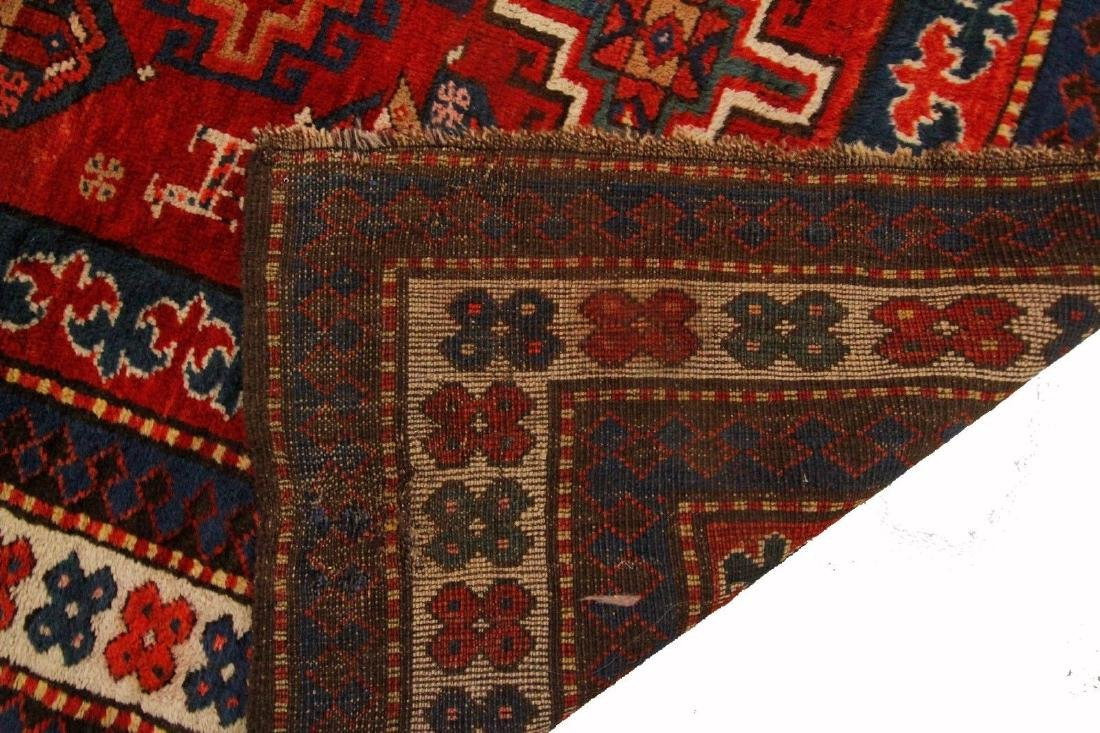 Antique Kazak Caucasian Rug 4x7 - 9