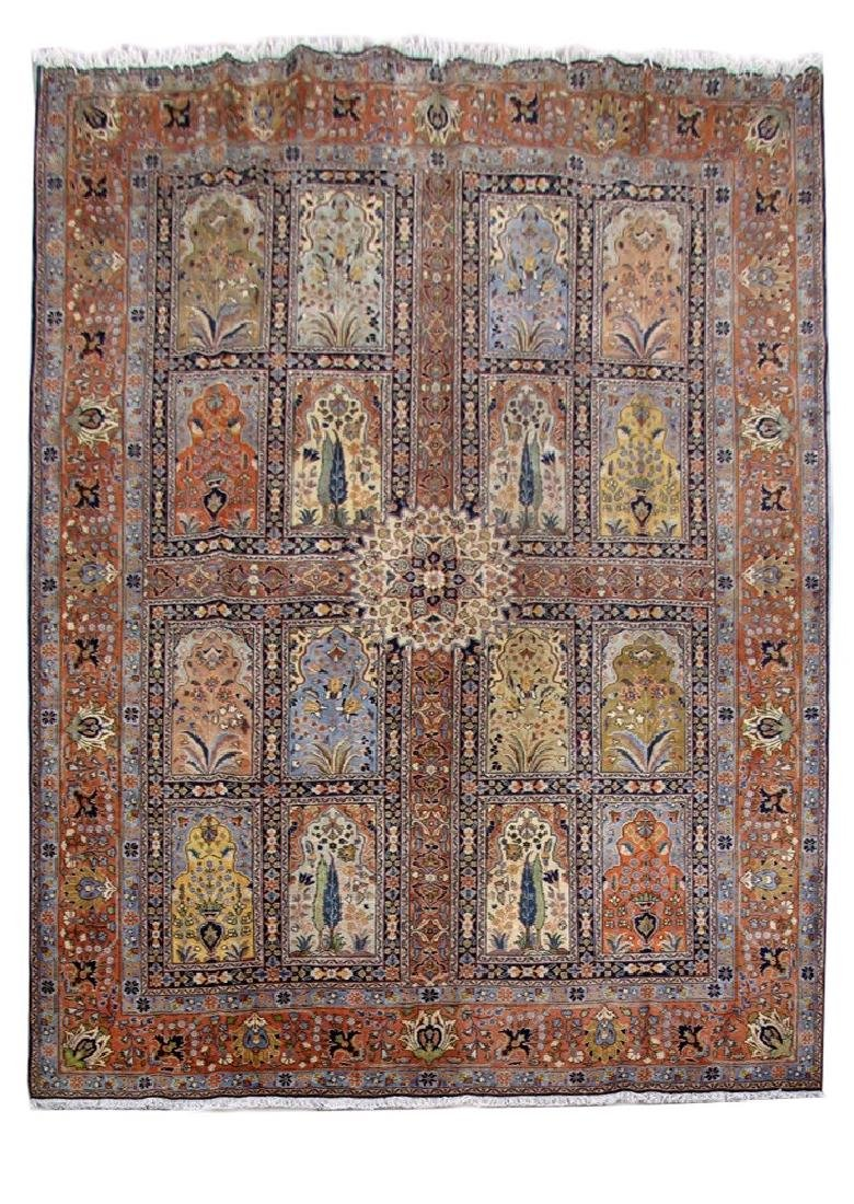 Handmade Persian Tabriz Khoy Carpet 10x13