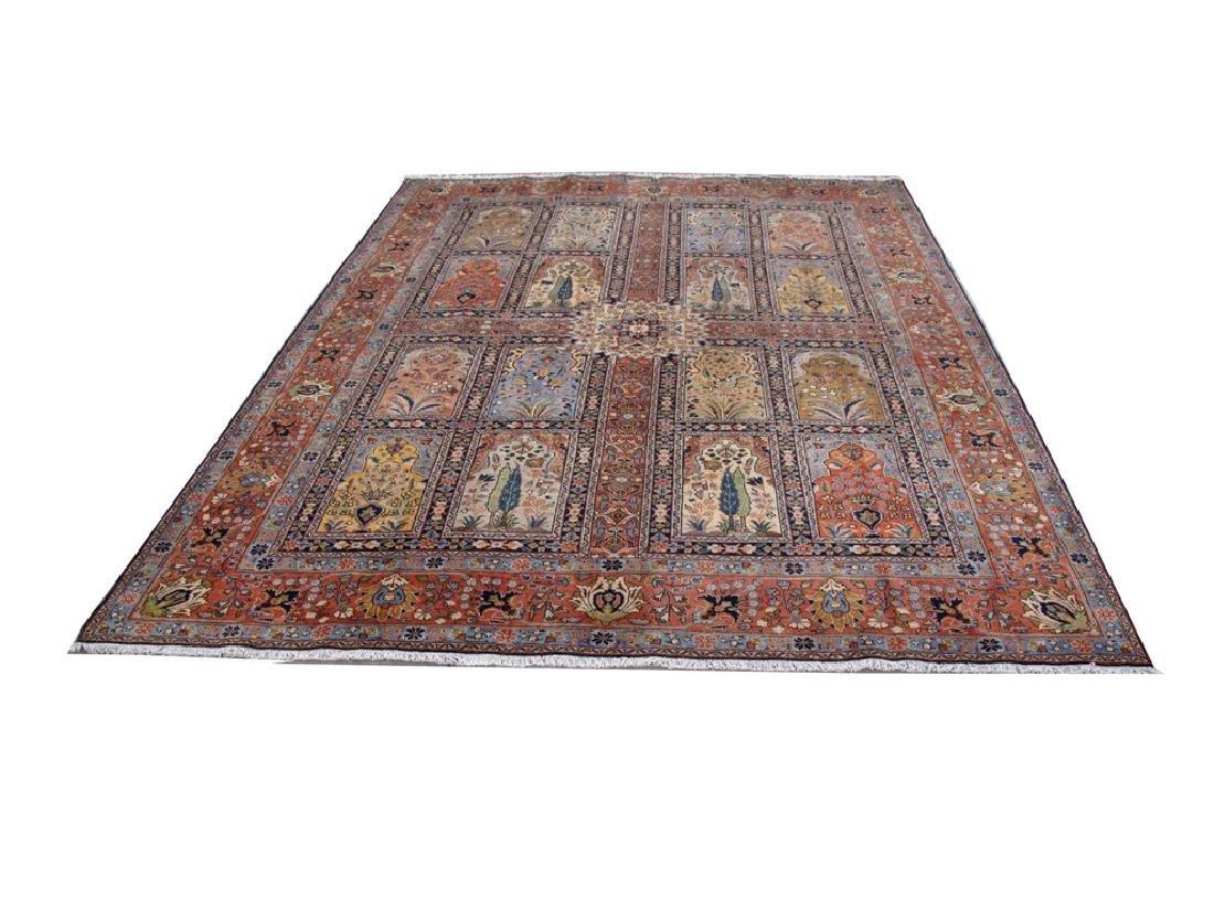 Handmade Persian Tabriz Khoy Carpet 10x13 - 2