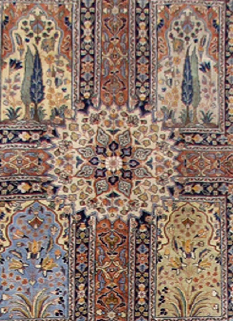Handmade Persian Tabriz Khoy Carpet 10x13 - 4